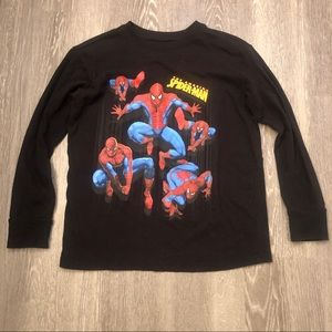 Marvel Boys The Amazing Spider-Man Tee Sz Medium